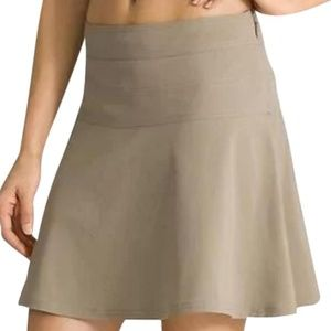 Athleta All Day Skort Skirt Travel Khaki 10T